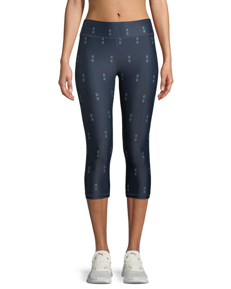 Feather NYC 3/4 Printed Leggings