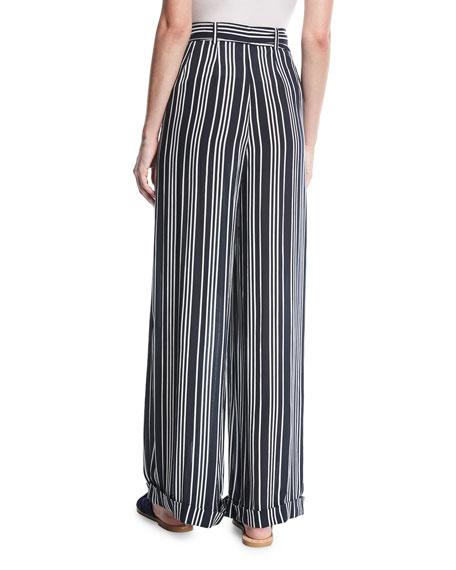 Ira Striped Knit Pants