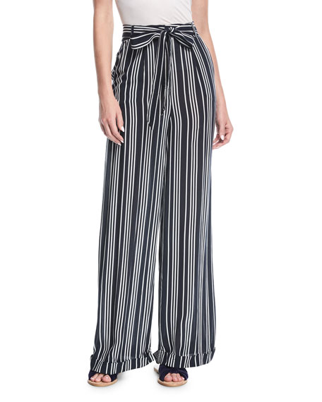 Finders Ira Striped Knit Pants