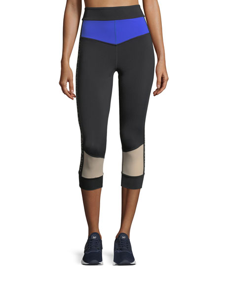 PE Nation Curve Ball 3/4 Performance Leggings