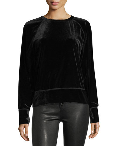 Velvet Classic Pullover Sweatshirt