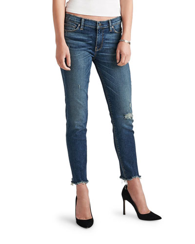 Colette Mid-Rise Skinny Crop Jeans