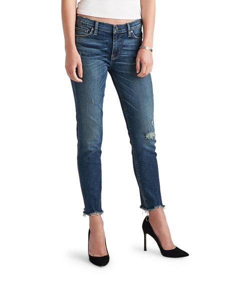 Hudson Colette Mid-Rise Skinny Crop Jeans
