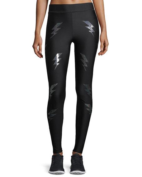 Ultra High Silky Bolt Performance Leggings