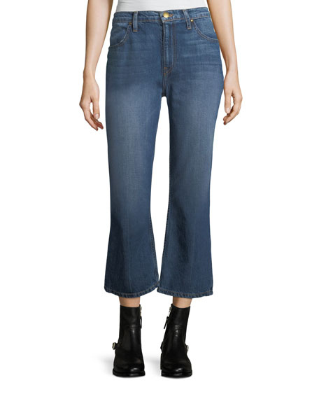 The Great The Relaxed Nerd Crop Flare Jeans