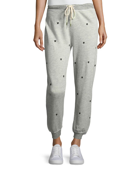 The Cropped Cotton-Blend Jogger Sweatpants