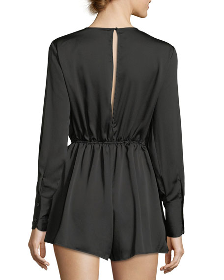 Paradise City Satin Romper