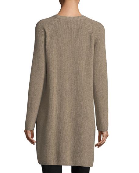 Italian Undyed Cashmere Extra Long Tunic
