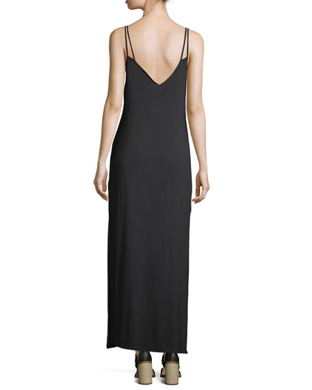 Peace Music Sleeveless Maxi Dress