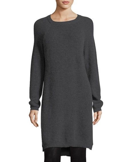 Fine-Gauge Cashmere Extra Long Tunic