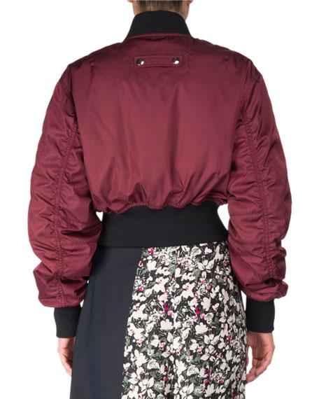 Acne Studios Aila Zip-Front Bomber Jacket