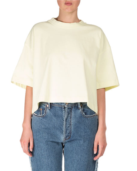 Cylea Oversized Boxy Cotton Tee