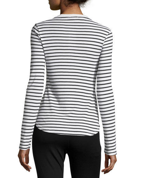 Venice Long-Sleeve Striped Top