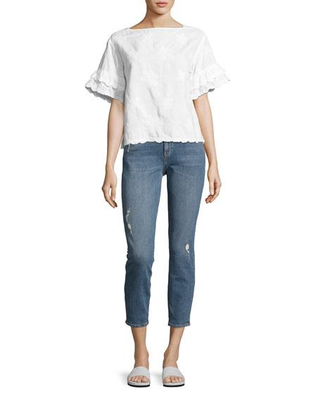 Tomboy Skinny Boyfriend Denim Jeans