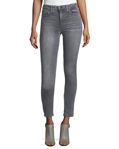 Joe's Jeans The Charlie High-Rise Faded Ankle Jeans