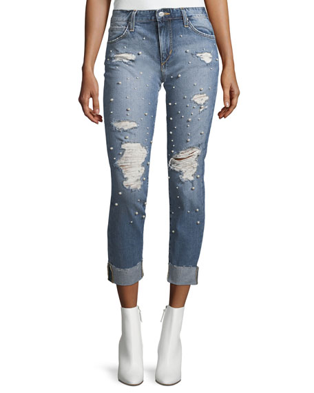 Joe's Jeans The Smith Mid-Rise Straight-Leg Jeans w/