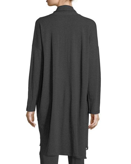 Cozy Tencel® Knee-Length Cardigan