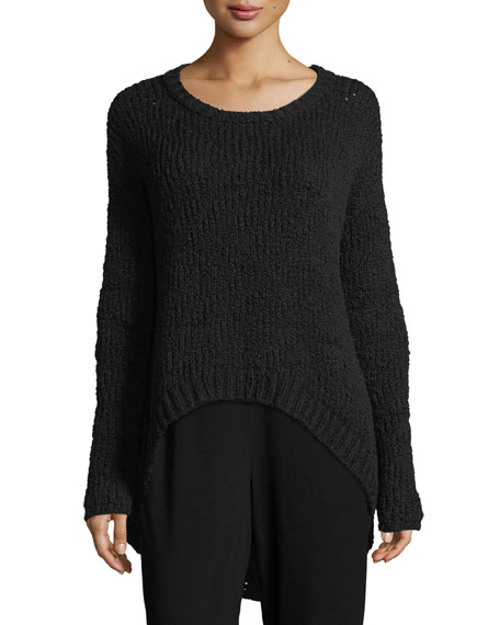 Eileen Fisher Peruvian Organic Cotton Top, Petite
