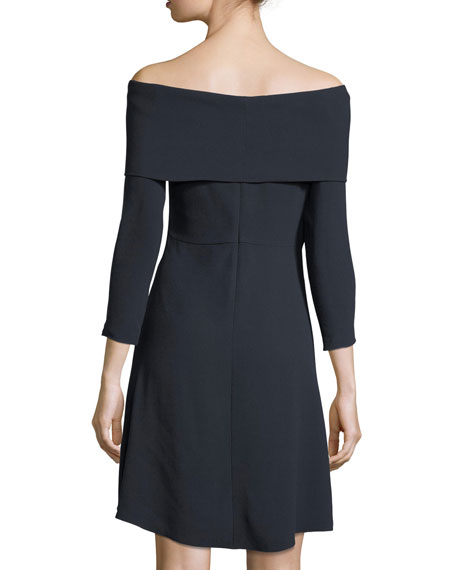 Kensington Off-the-Shoulder Mini Cocktail Dress
