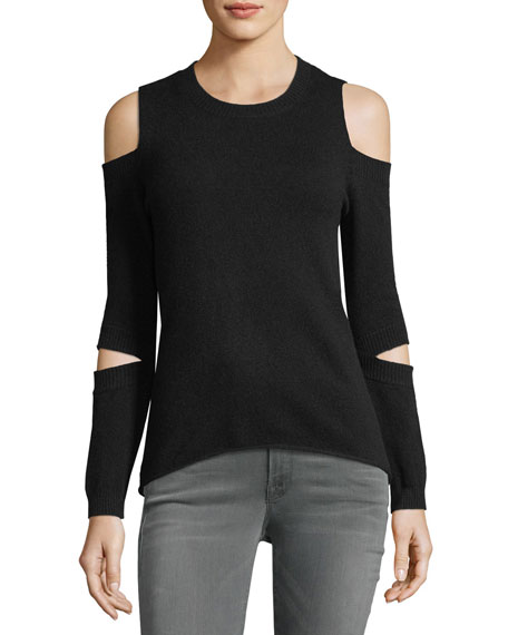 Generation Love Rosie Cold-Shoulder Cashmere Sweater