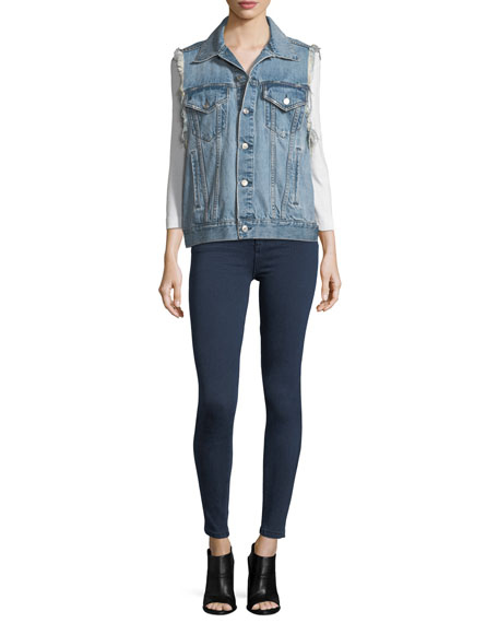 Quincy Mid-Rise Skinny Jeans