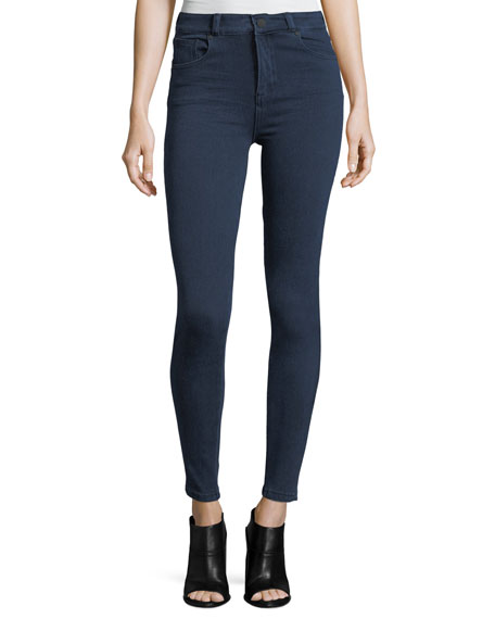 Acynetic Quincy Mid-Rise Skinny-Leg Jeans