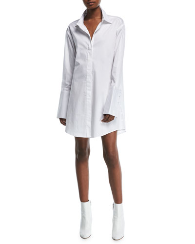 Lean On Me Shirtdress
