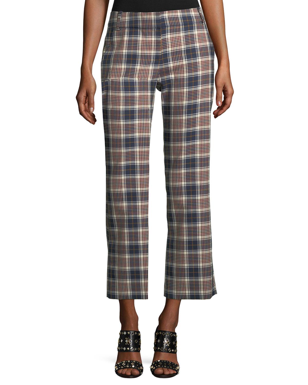 Garret plaid trousers Tory Burch qiFBpFMZe