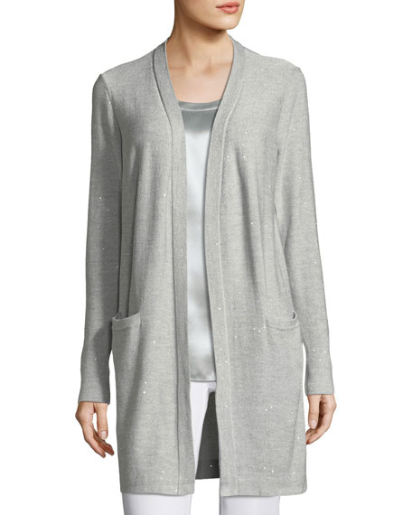 Lafayette 148 New York Bead and Mesh Long
