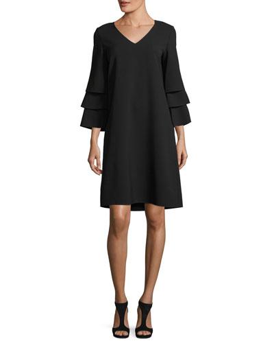 Velez Finesse Crepe Dress