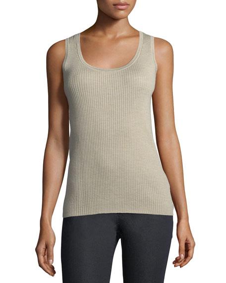 Lafayette 148 New York Merino Wool Modern Ribbed