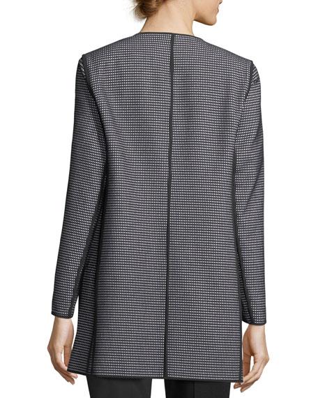 Pria Modular-Jacquard Topper Jacket