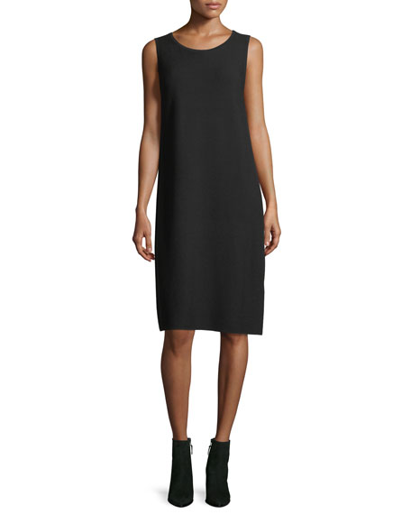 Lafayette 148 New York Matte Crepe Sweater Dress