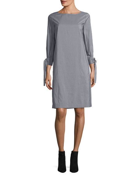 Lafayette 148 New York Paige Millennial Stripe Shift