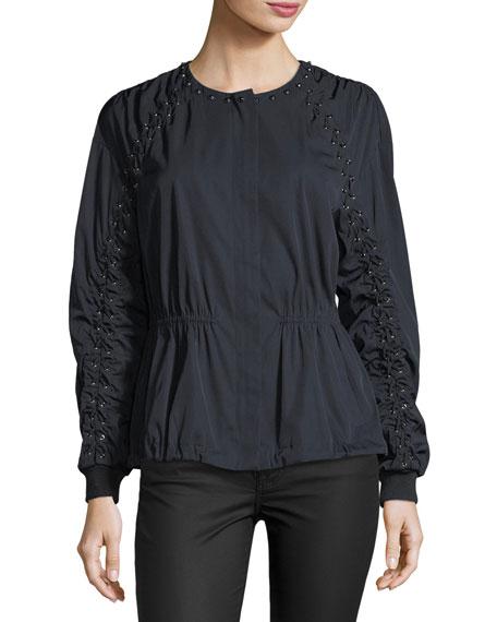 Maggie Zip-Front Jacket
