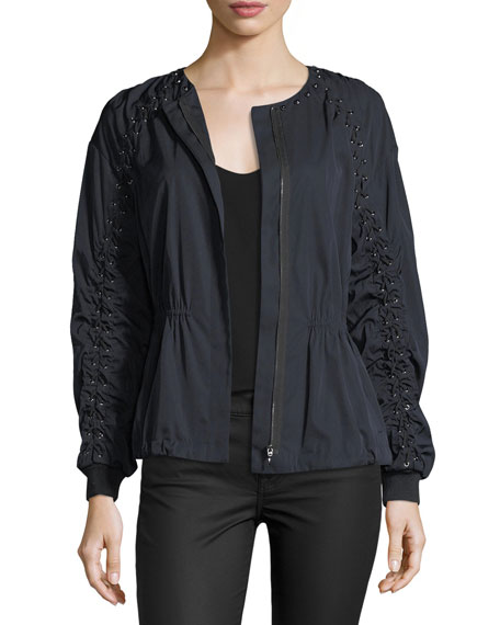 Kobi Halperin Maggie Zip-Front Jacket