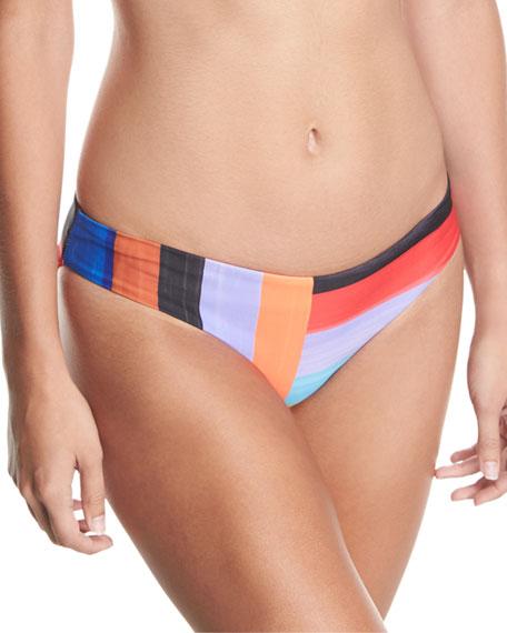 Mara Hoffman Zoa Brushed Stripes Swim Bottom