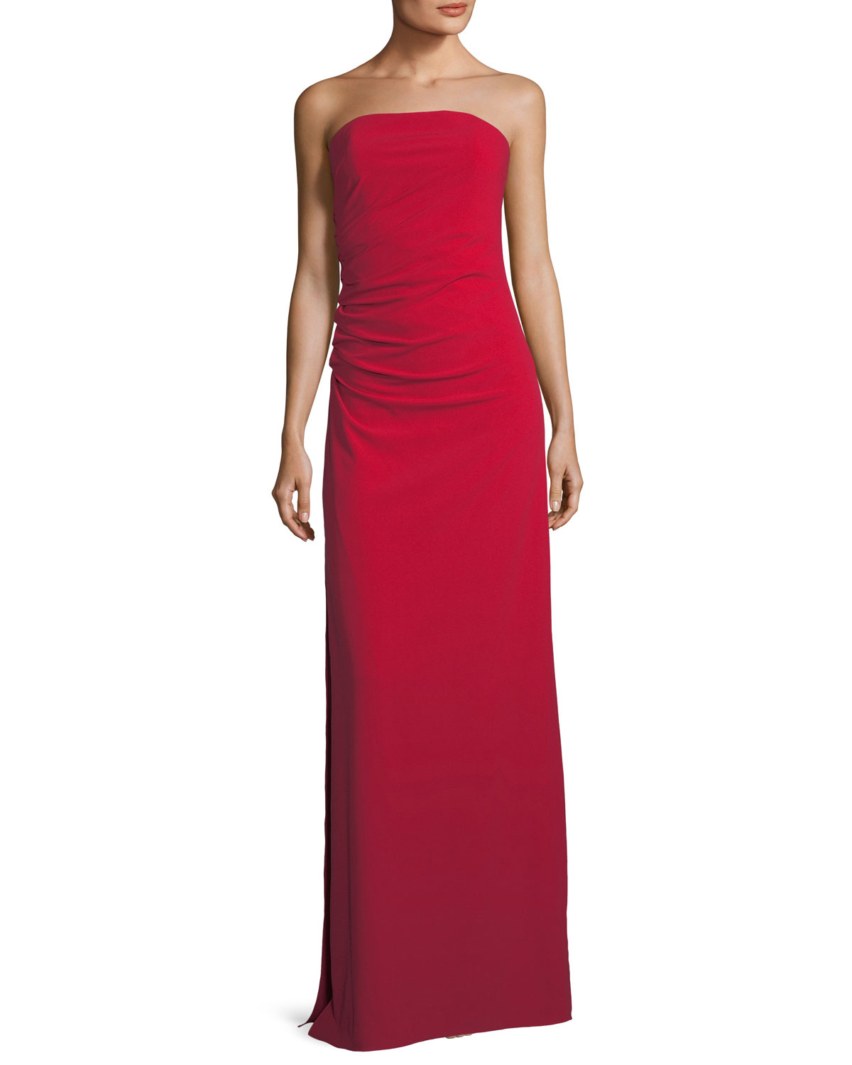 Ruched Bodice Gown | Neiman Marcus