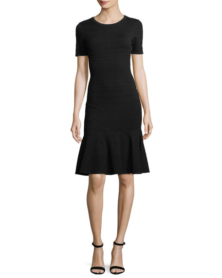 Knit Chevron Mermaid Dress