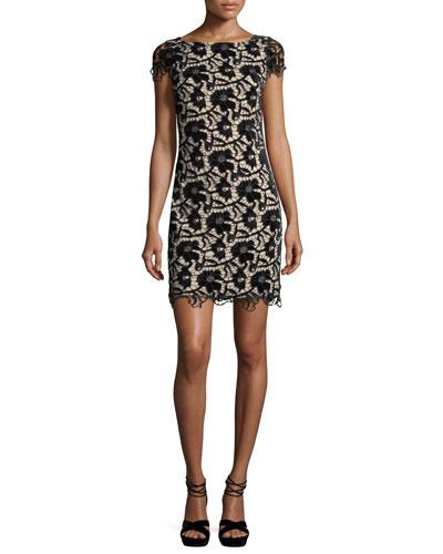 Clover Halter Floral-Print Midi Dress