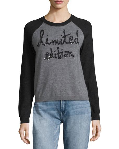 Alice + Olivia Gretta Limited Edition Raglan Pullover