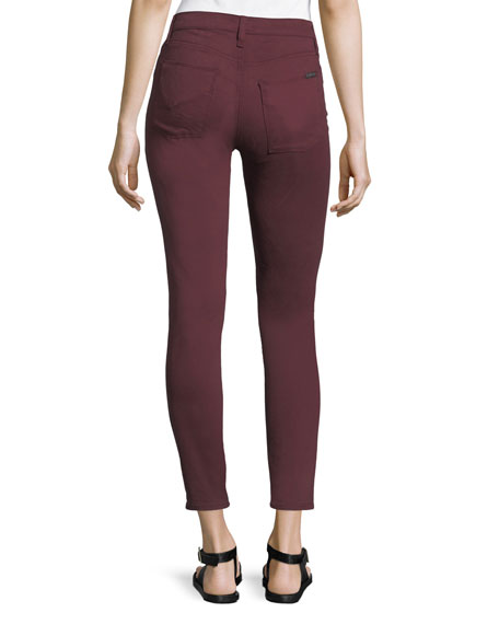 Nico Mid-Rise Super-Skinny Ankle Jeans