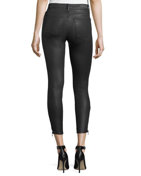 Valery Coated Skinny Jeans