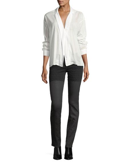 Emma Waxed Skinny Jeans