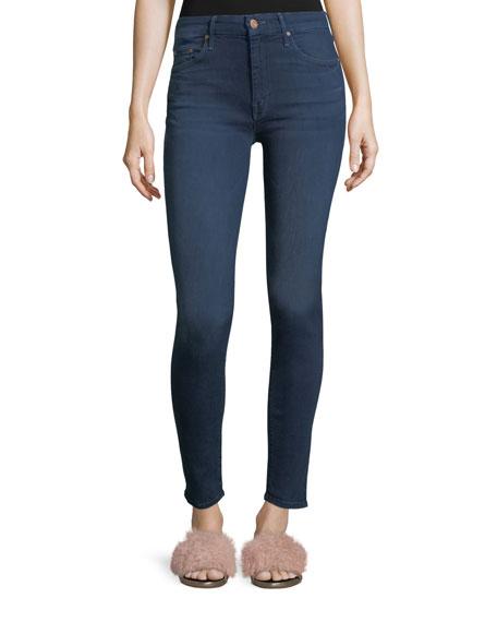 Mother Denim Looker Skinny Jeans in Crowd Pleaser