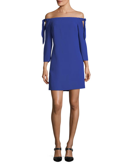 Club Monaco Solanga Off-the-Shoulder Mini Dress