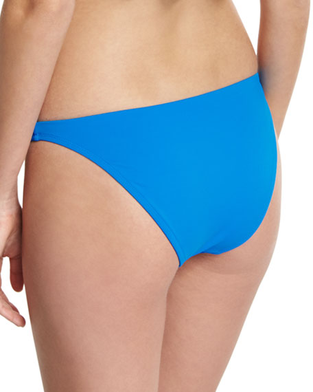 St. Lucia Italian Solid Swim Bottom, Blue