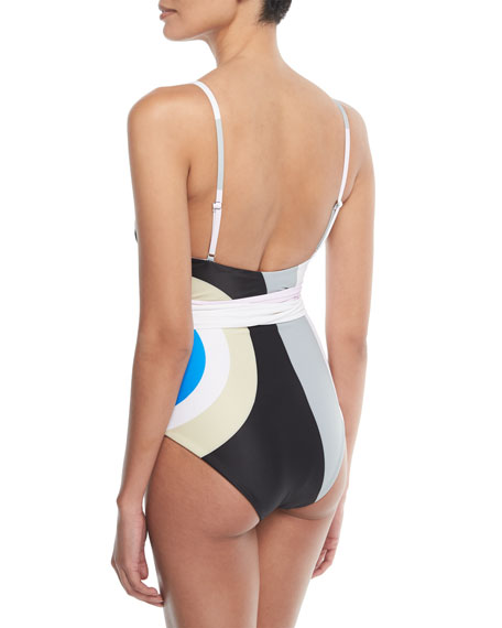 Isolde Printed One-Piece Swimsuit