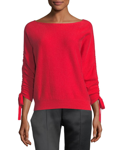 Joie Dannee Boat-Neck Wool-Cashmere Sweater and Matching Items