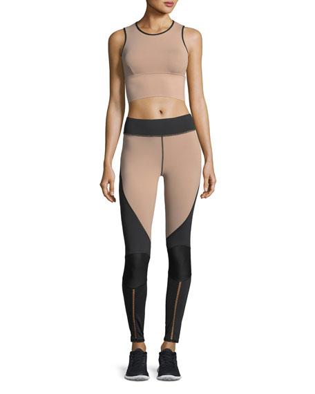 Shift Colorblocked Full-Length Performance Leggings